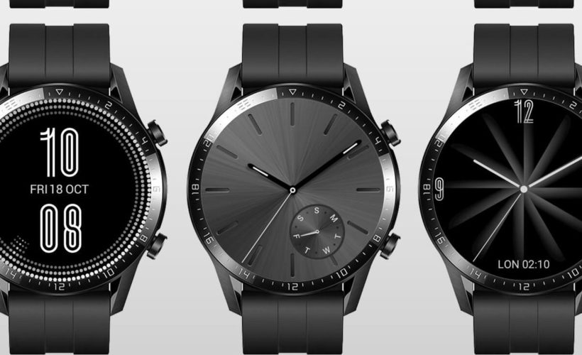 Así se verán las esferas del Huawei Watch GT 2 con HarmonyOS 5