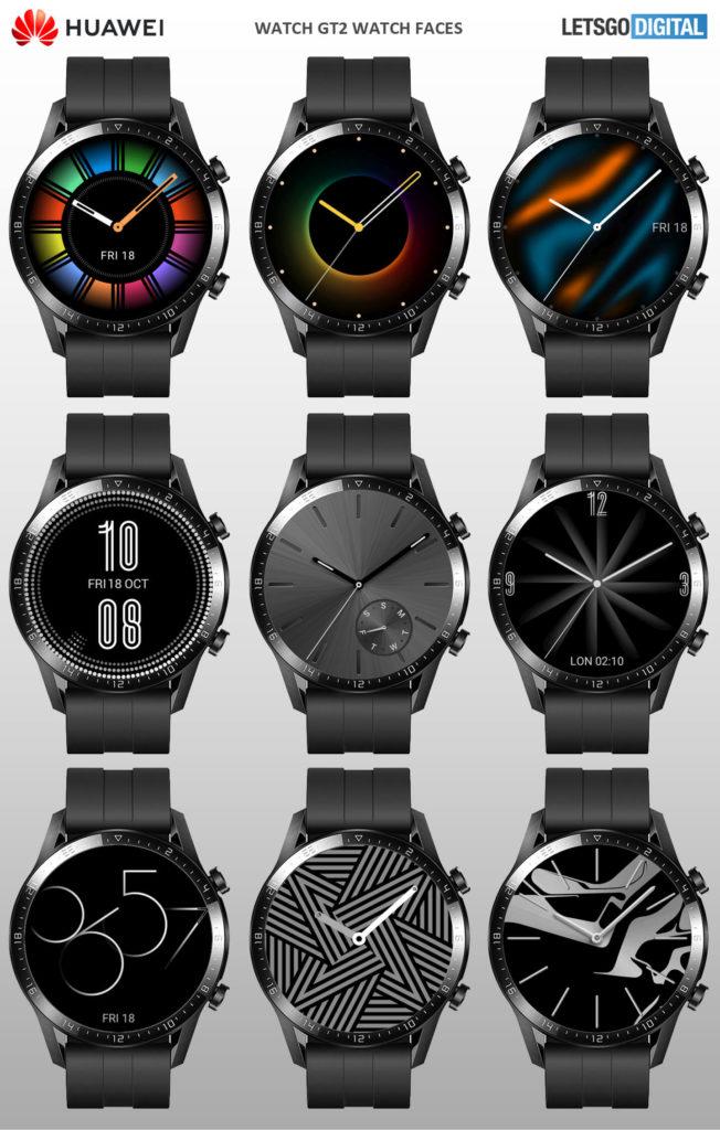 Así se verán las esferas del Huawei Watch GT 2 con HarmonyOS