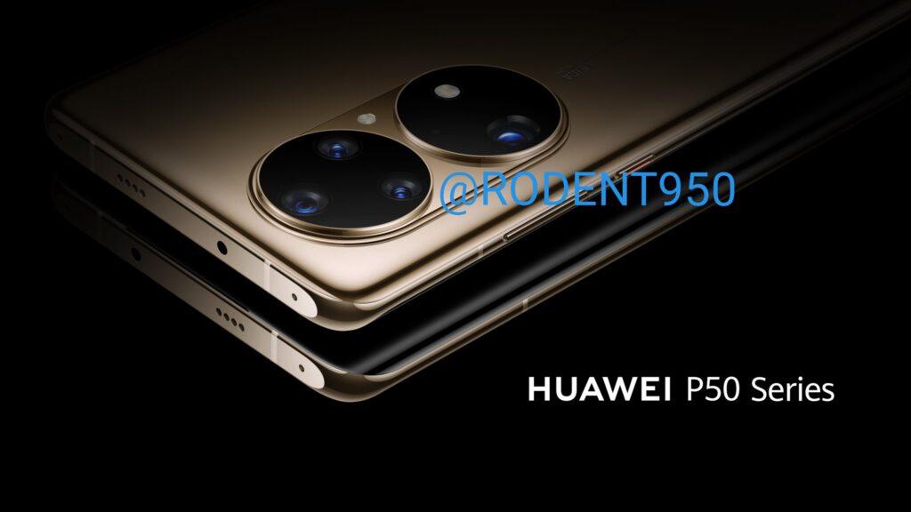 Los nuevos Huawei P50 se filtran en renders oficiales 2