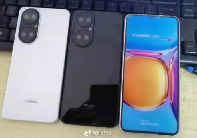 Primeras imágenes del Huawei P50 con HarmonyOS