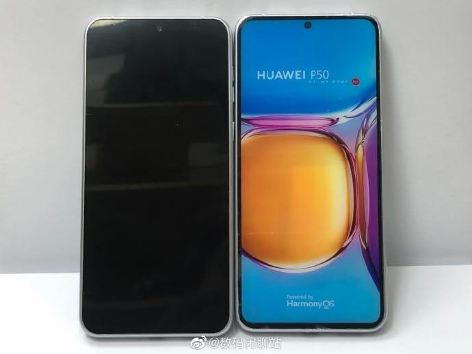 Primeras imágenes del Huawei P50 con HarmonyOS 1