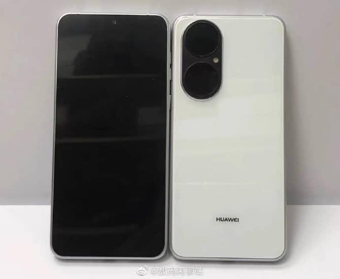 Primeras imágenes del Huawei P50 con HarmonyOS 2